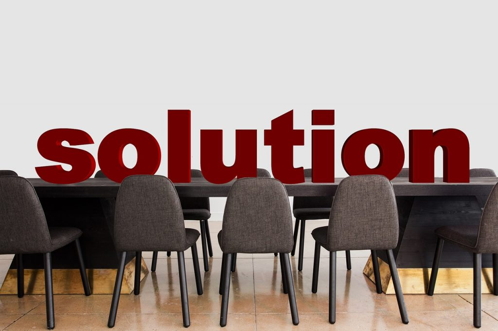 conference, solution, clarification